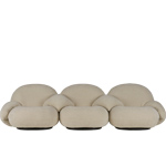 pacha 3 seat sofa with 4 armrests  -