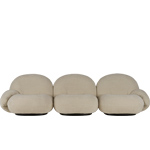 pacha 3 seat sofa with armrests  -