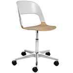 pair chair with star base  -