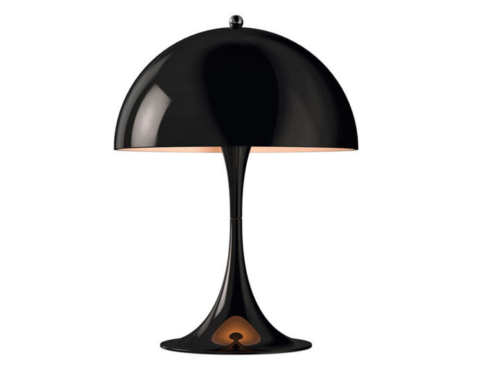 Verner Panton Panthella Mini Led Table Lamp Hivemodern Com