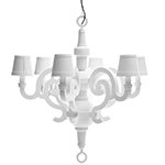 paper chandelier  -