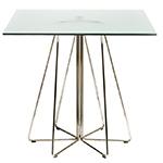 paperclip square table - Massimo Vignelli - Knoll
