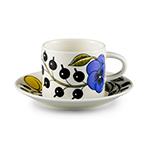 paratiisi coffee cup & saucer  - iittala
