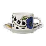 paratiisi tea cup & saucer  - iittala