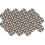 parquet rhomb rug  - GAN