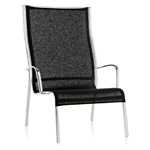 paso doble low chair high back two pack