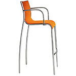 magis paso doble stool with arms two pack  -