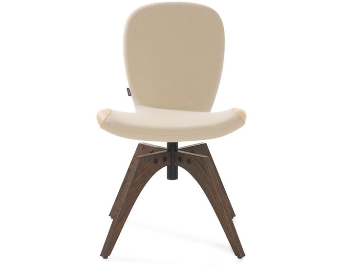 patch 01 swivel chair with 4 leg base