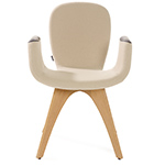 patch 02 armchair with 4 leg base  -