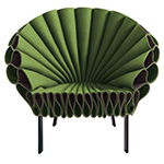 peacock chair  -
