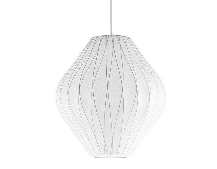 pear bubble lamp - criss cross