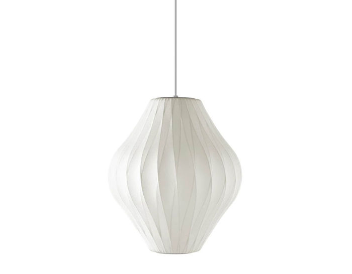 nelson™ bubble lamp crisscross pear