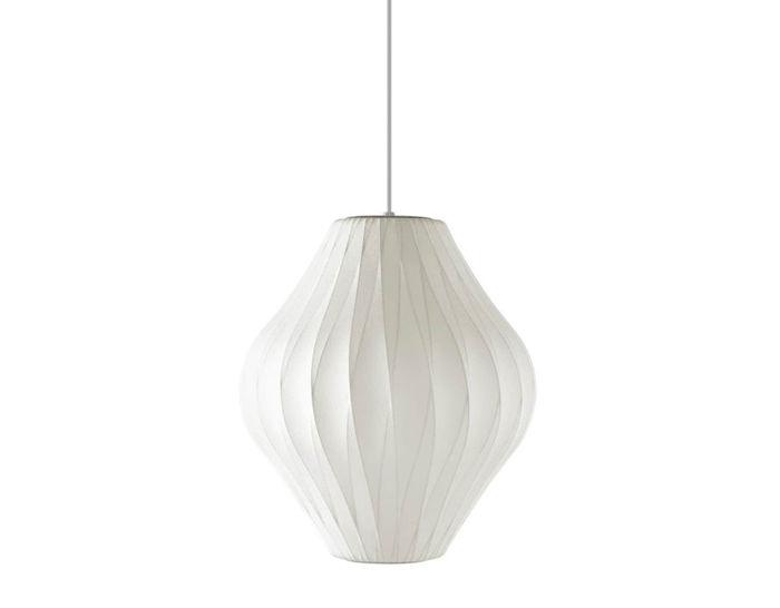nelson™ bubble lamp crisscross pear