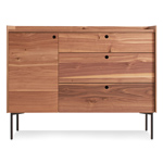 peek 1 door / 3 drawer credenza  - blu dot