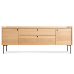 peek 2 door / 2 drawer console  - blu dot