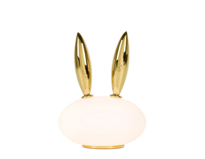 pet light purr rabbit table lamp by marcel wanders for moooi