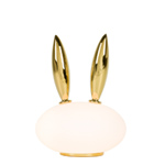 pet light purr rabbit table lamp by marcel wanders for moooi  -
