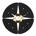 george nelson petal wall clock  -