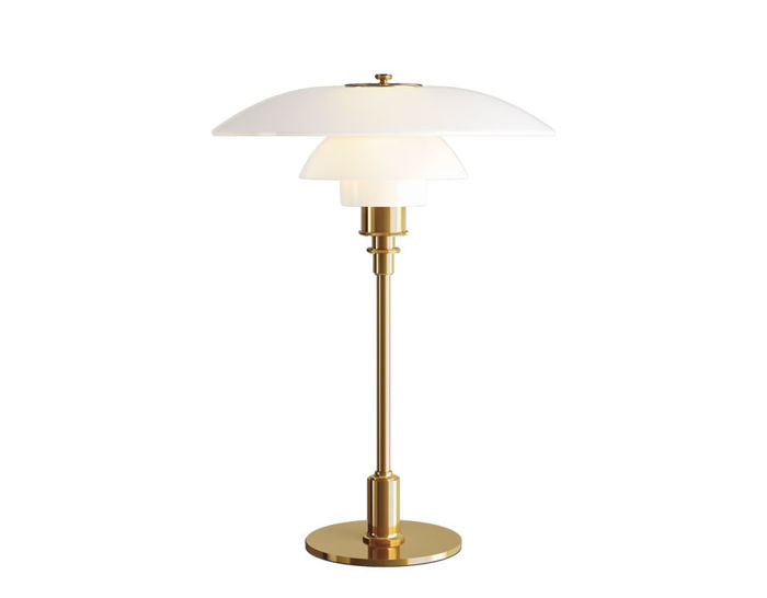 ph 3.5-2.5 glass table lamp