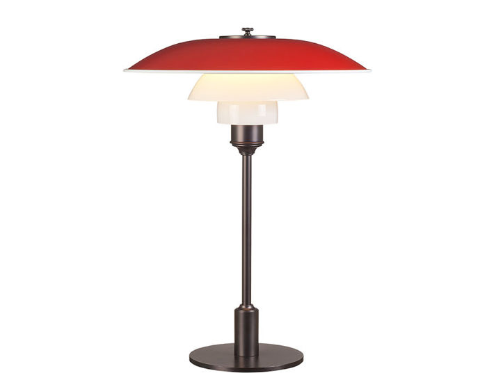 ph 3.5-2.5 color table lamp