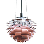 ph artichoke special edition copper pendant lamp  -