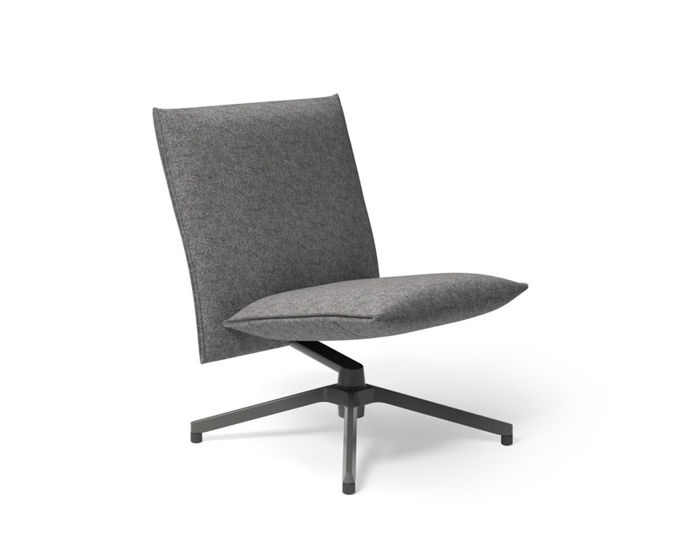pilot low back lounge chair
