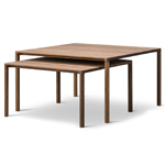 piloti square table  - Fredericia