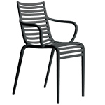 pip-e stackable armchair 4 pack - Philippe Starck - driade
