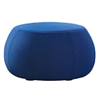 pix one seat low ottoman  - arper