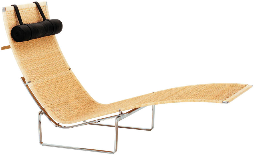 pk24 wicker chaise lounge