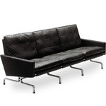poul kjaerholm pk31 three seat sofa  -