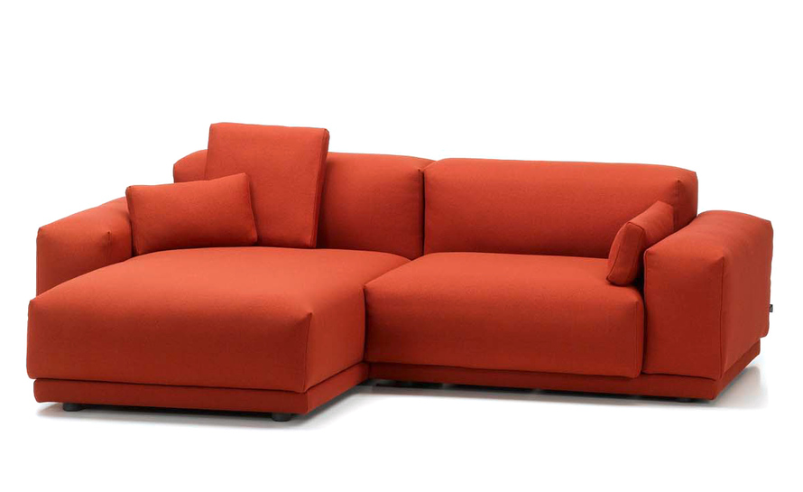 Place 2 seat sofa with chaise for Couch with 2 chaise lounges