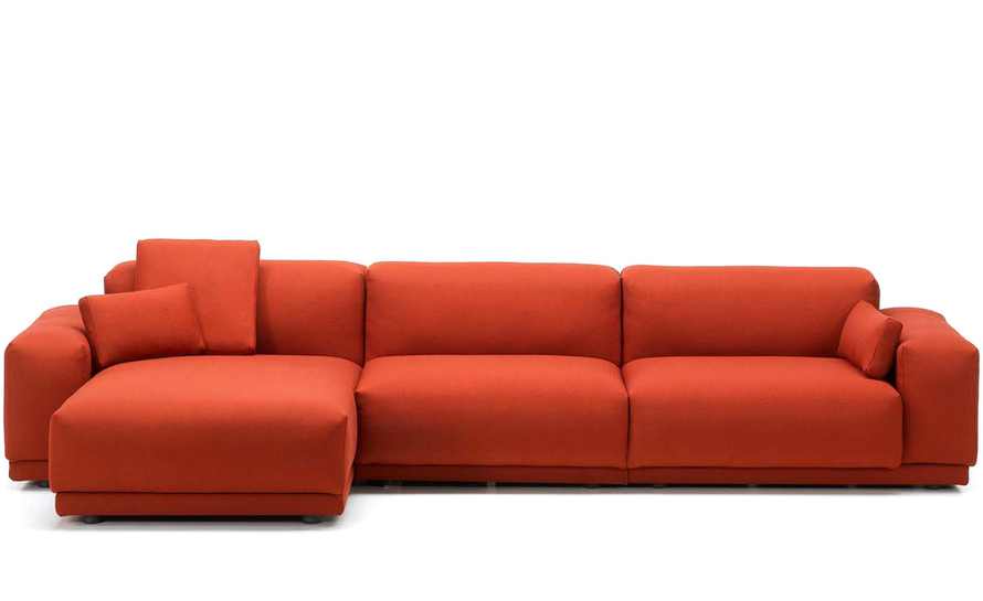 Place 3 Seat Sofa With Chaise - hivemodern.com