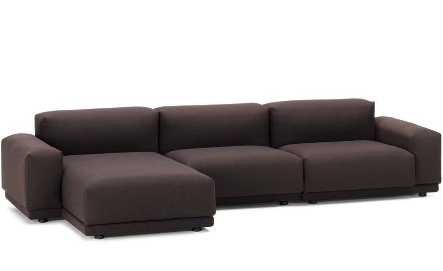 Place sofa 3 seater w chaise for Chaise 2 places