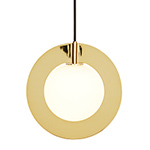 plane round pendant light  -