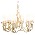 plant chandelier  -
