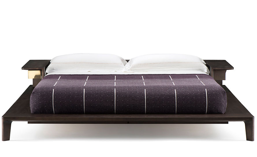 platform queen bed 758aq