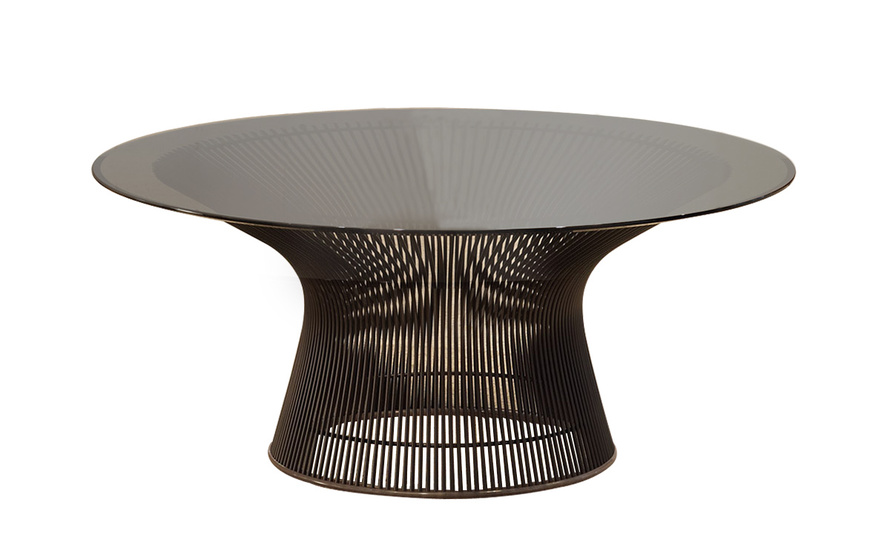 Platner 36 bronze coffee table Bronze coffee tables