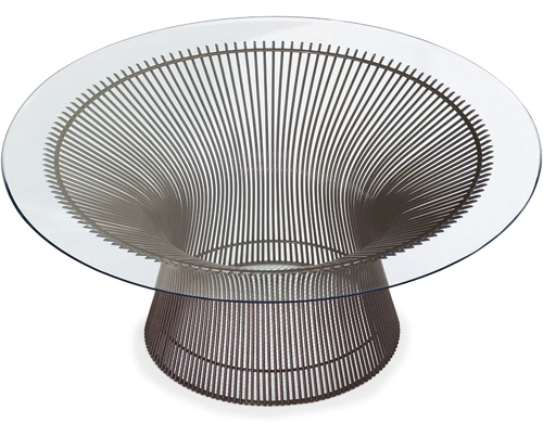 Platner 42 Bronze Coffee Table