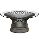 platner bronze coffee table - Warren Platner - Knoll