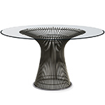 platner bronze dining table - Warren Platner - Knoll