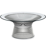 platner nickel coffee table - Warren Platner - Knoll