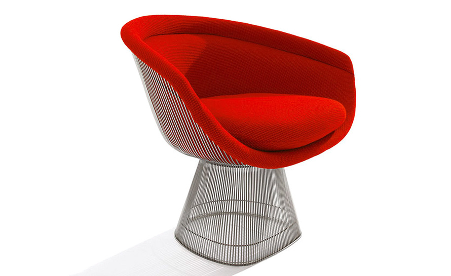 Platner Chair platner lounge chair - hivemodern