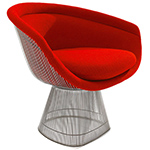platner lounge chair  -