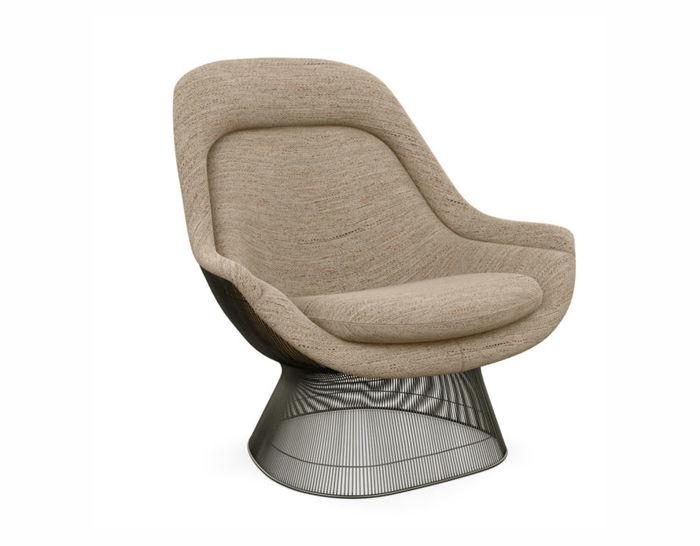 platner metallic bronze easy chair