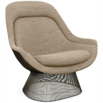 platner metallic bronze easy chair - Warren Platner - Knoll