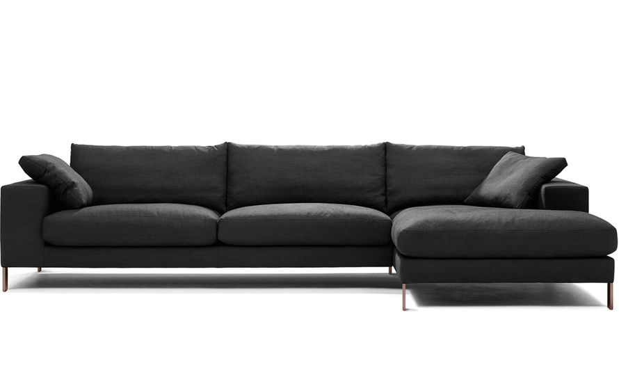 Plaza 3 Seat Sectional Sofa - hivemodern.com