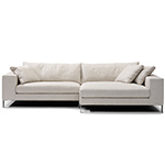 plaza small sectional sofa  -
