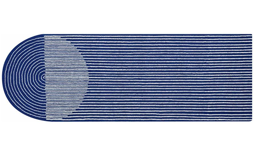 ply blue rug