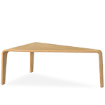 ply curved plywood low table  -